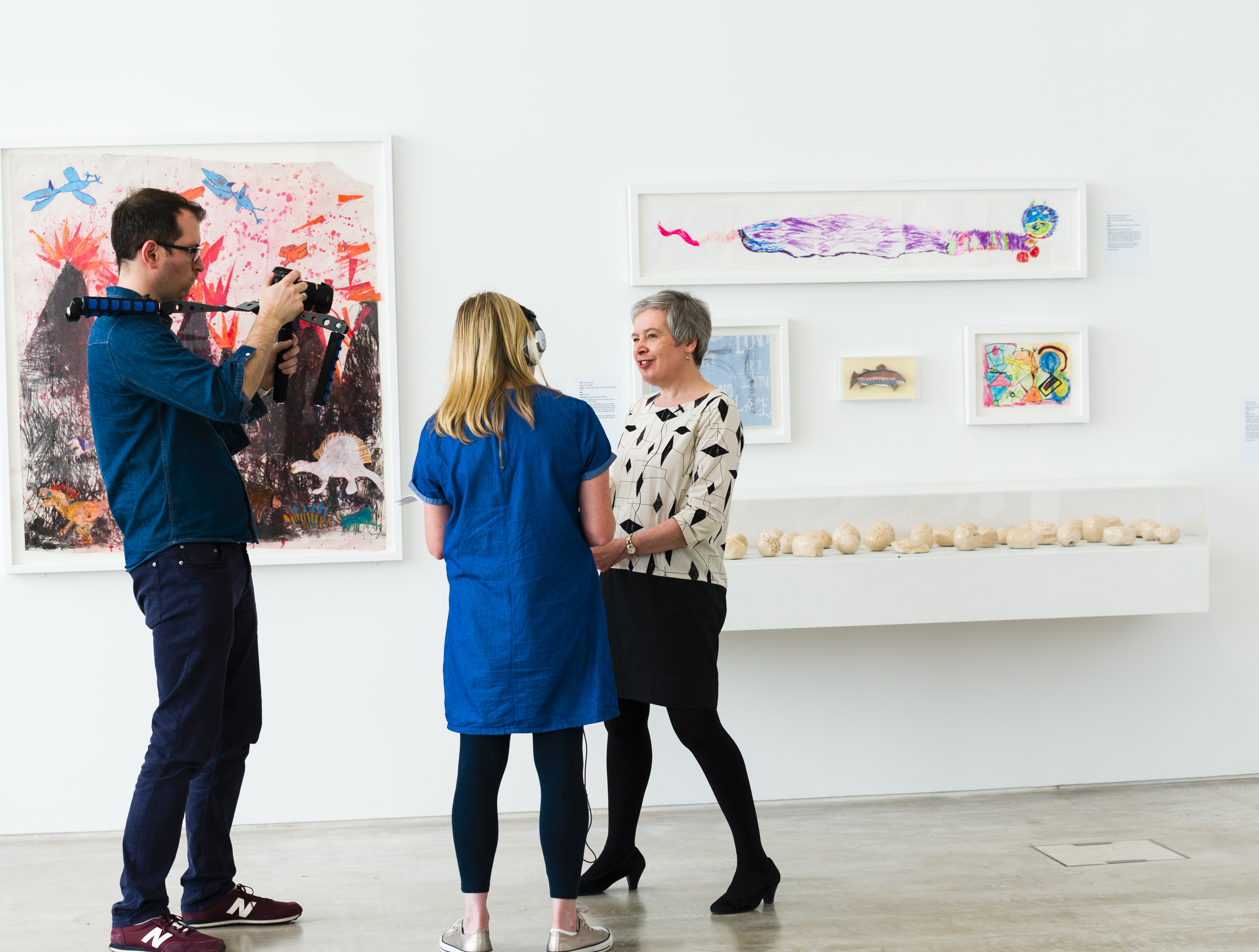 Jane Sillis, engage interview at Turner Contemporary