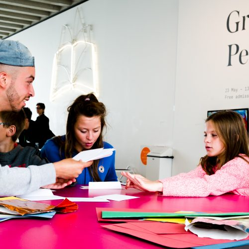 Leandro Stafford and Newington Youth Club at Turner Contemporary