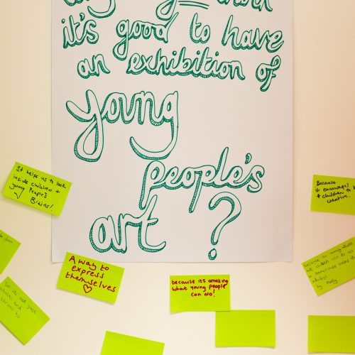 Generation ART evaluation in Leicester, led by Young Evaluator Carmel Ashberry-Sharp