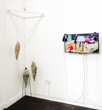 Three Cocoons and #Sheepselife on show in Generation ART, Leicester