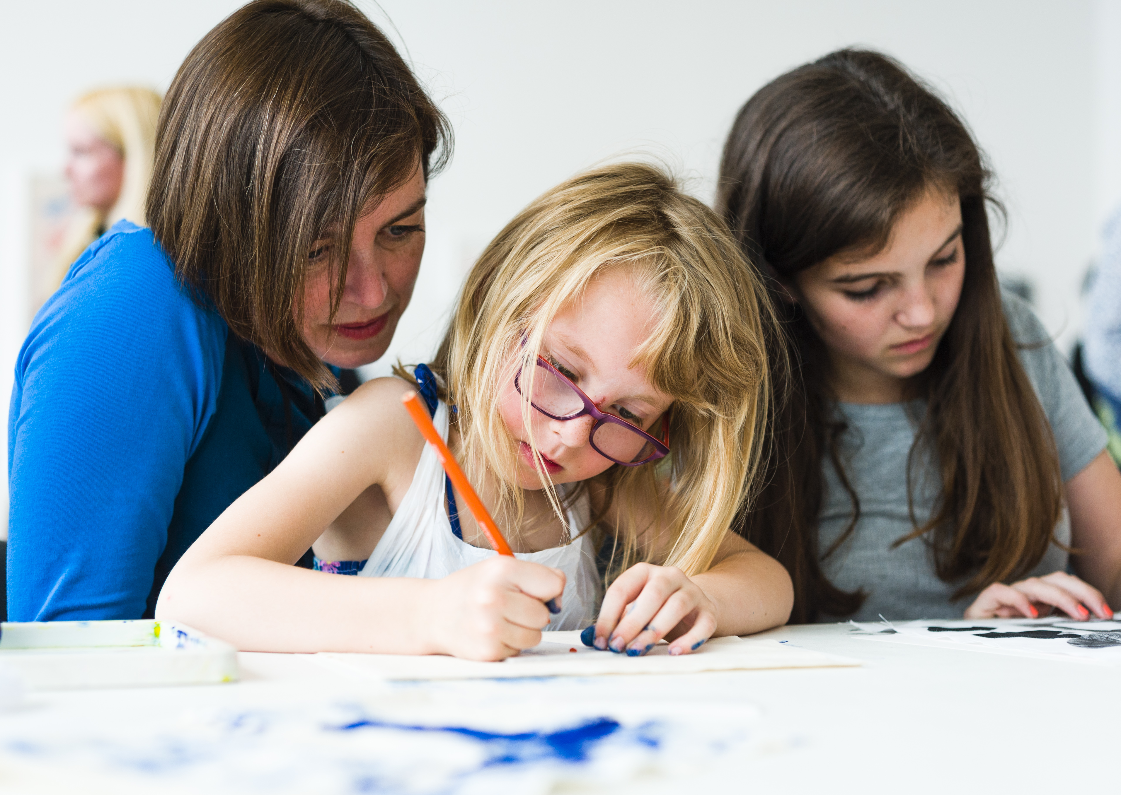 Generation ART family workshop, Turner Contemporary
