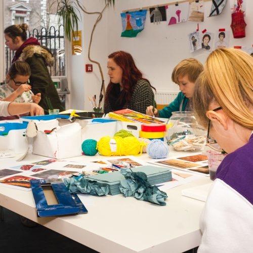 Generation ART workshops, Soft Touch Arts, Leicester