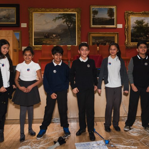 Generation ART exhibitors Mellor School, at New Walk Museum