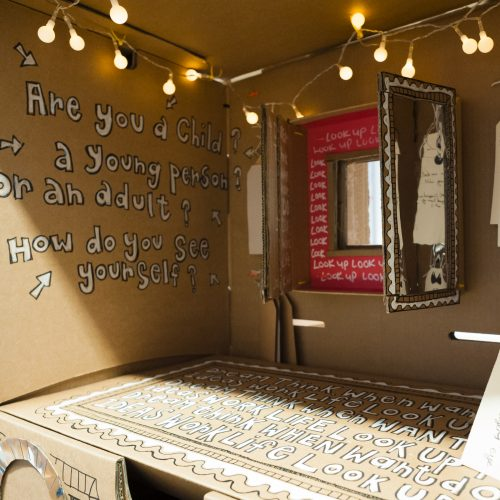 Generation ART Conversation Booth by Sian Watson Taylor