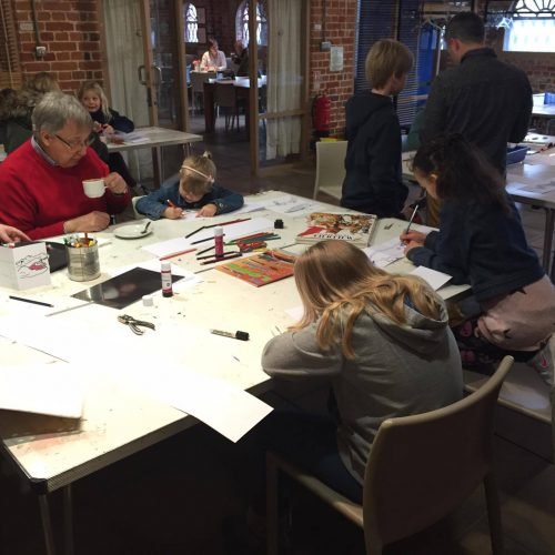 Family Drop-in at Quay Arts